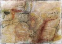 Ycanar, 50 x 75cm, pastel on paper