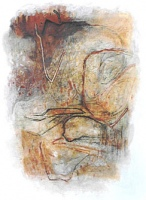 Ayro, 70 x 50cm, pastel & gouache on paper