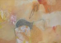 Rimeri 2, 34 x 50cm, pastel on paper