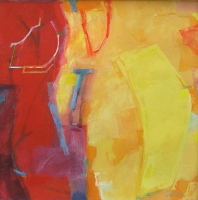 Tey-dhan-san, 20 x 20cm, gouache on paper