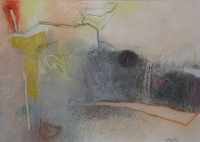Rimeri 4, 34 x 50cm, pastel on paper